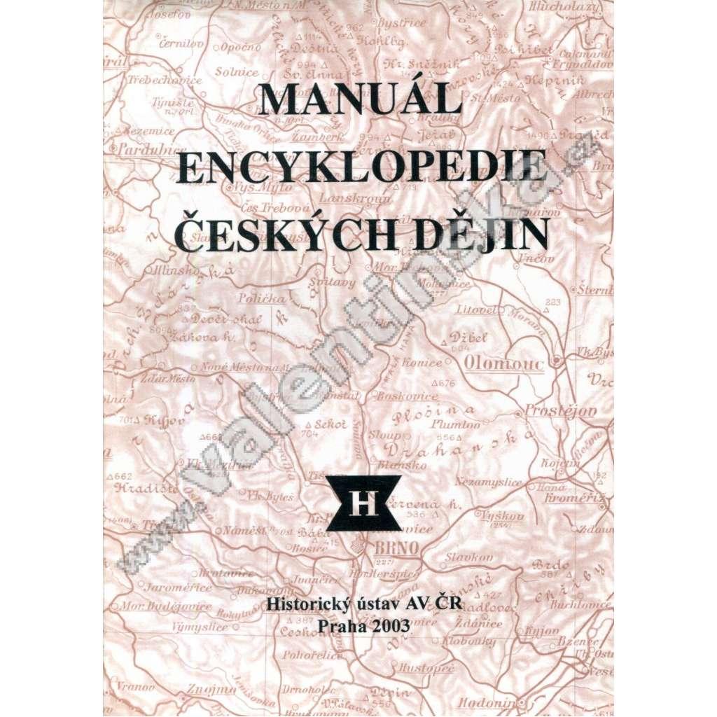 Manuál Encyklopedie českých dějin