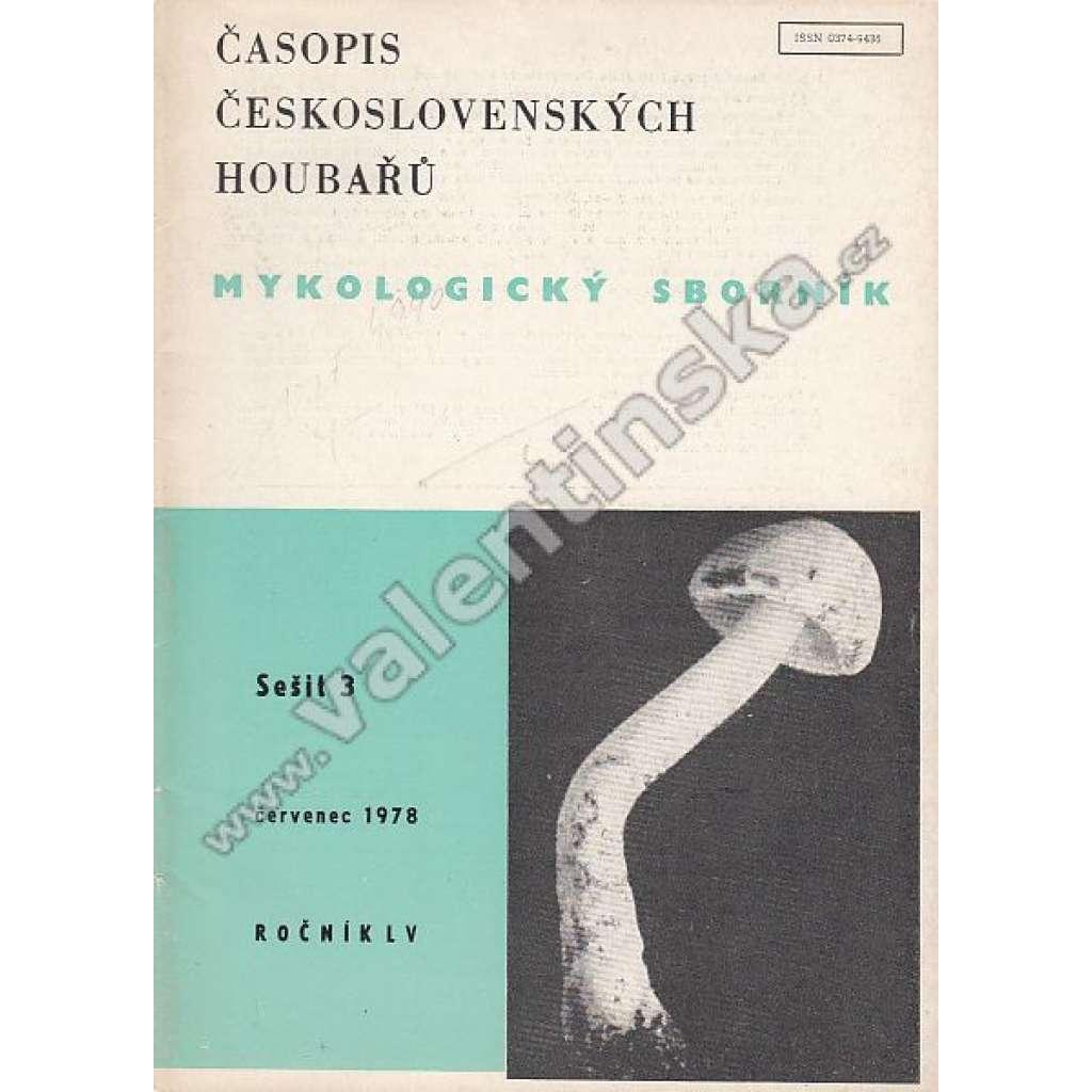 Mykologický sborník, 3/1978 (r. LV.)