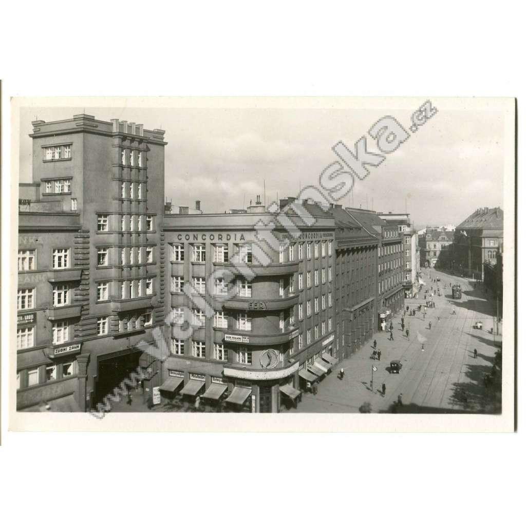 Ostrava, nádražní ulice, tramvaj