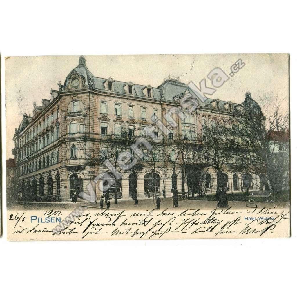 Plzeň, hotel Waldek