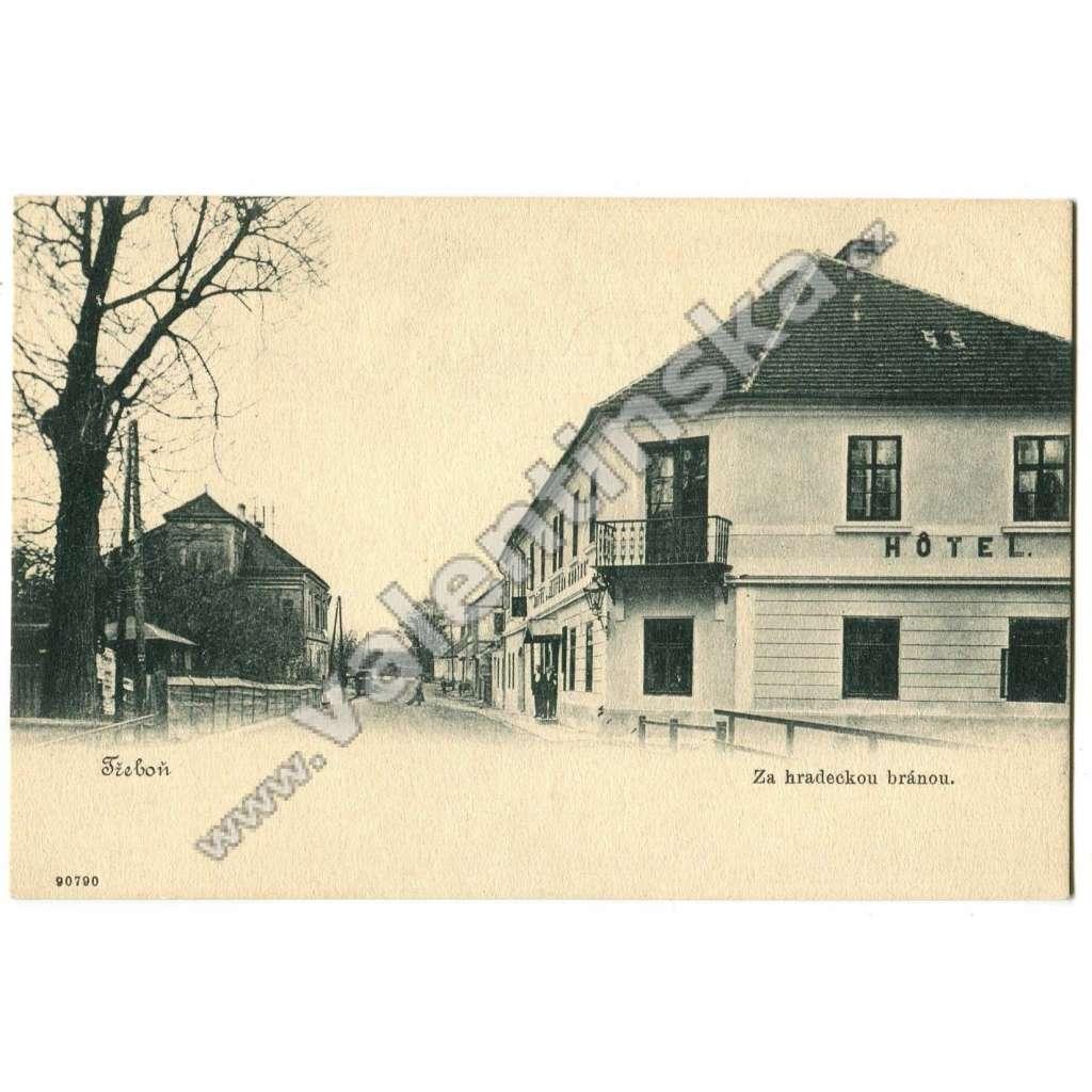 Třeboň, Jindřichův Hradec, hotel