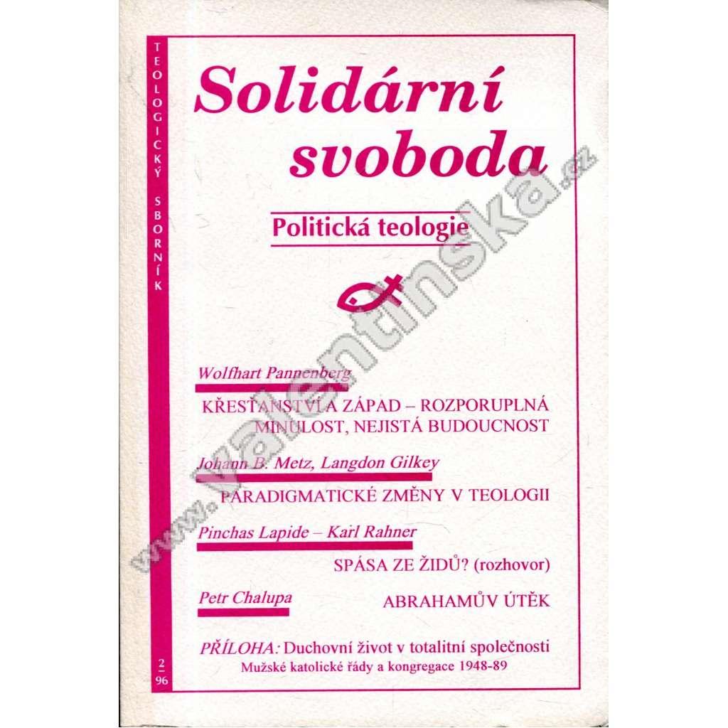 Solidární svoboda (Politická teologie)