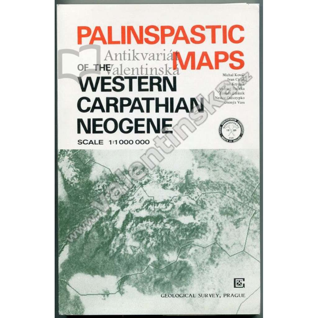 Palinspastic Maps of the Western Carpathian ....