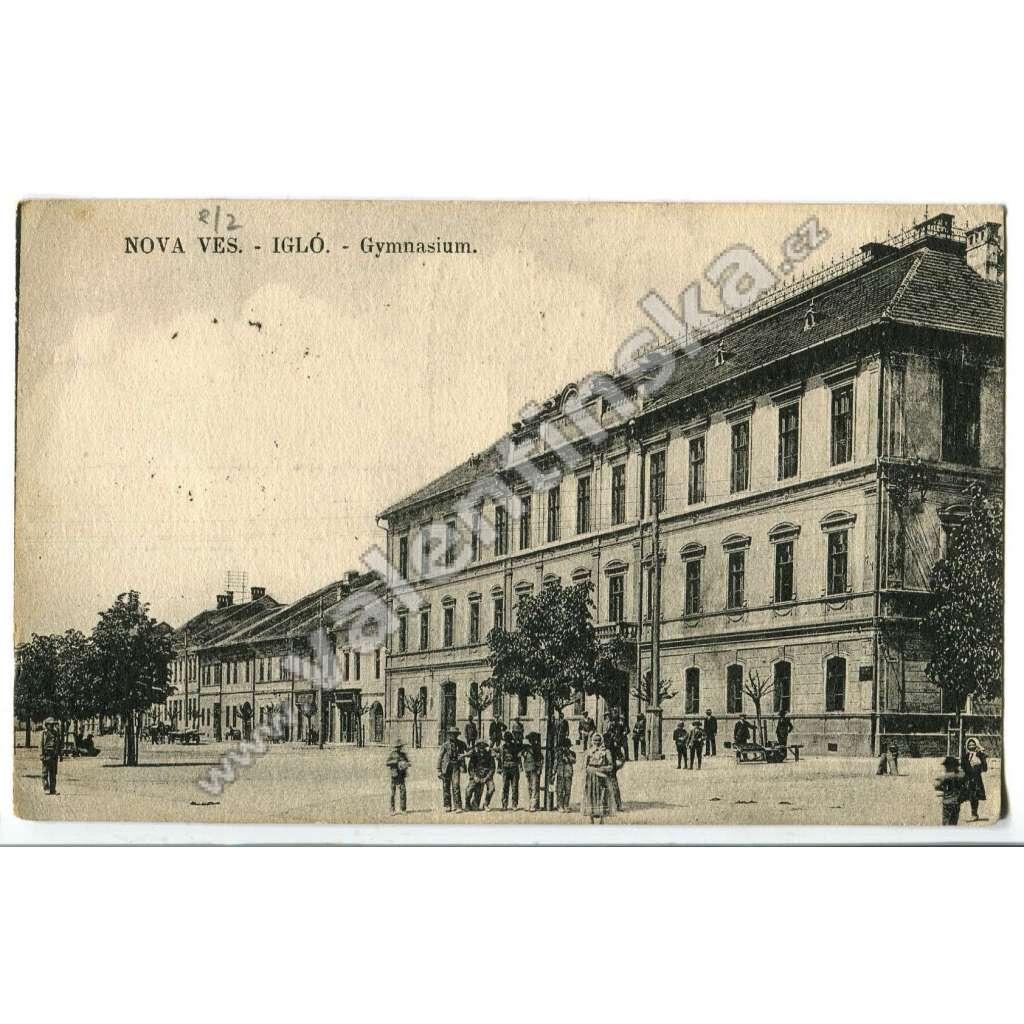 Spišská Nová Ves - Igló,  škola