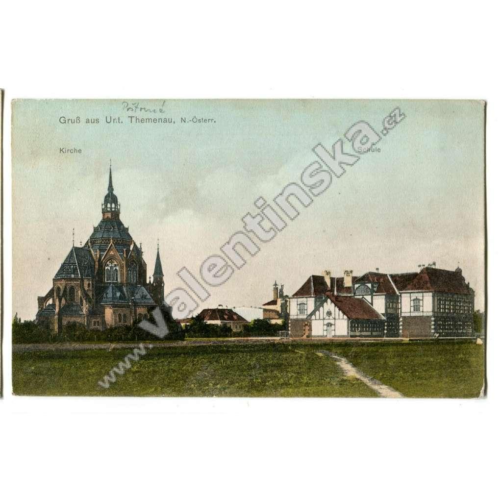 Poštorná, Břeclav, škola, pivovar