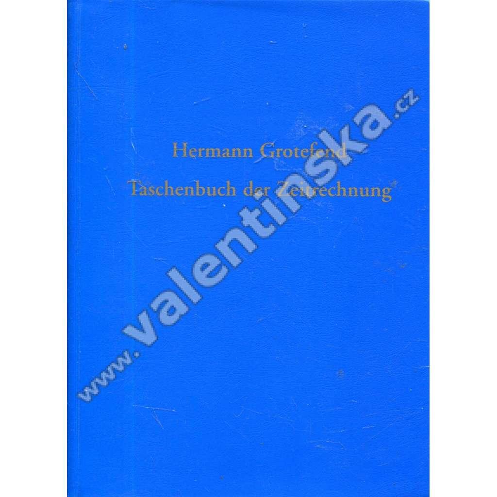 Taschenbuch der Zeitrechnung