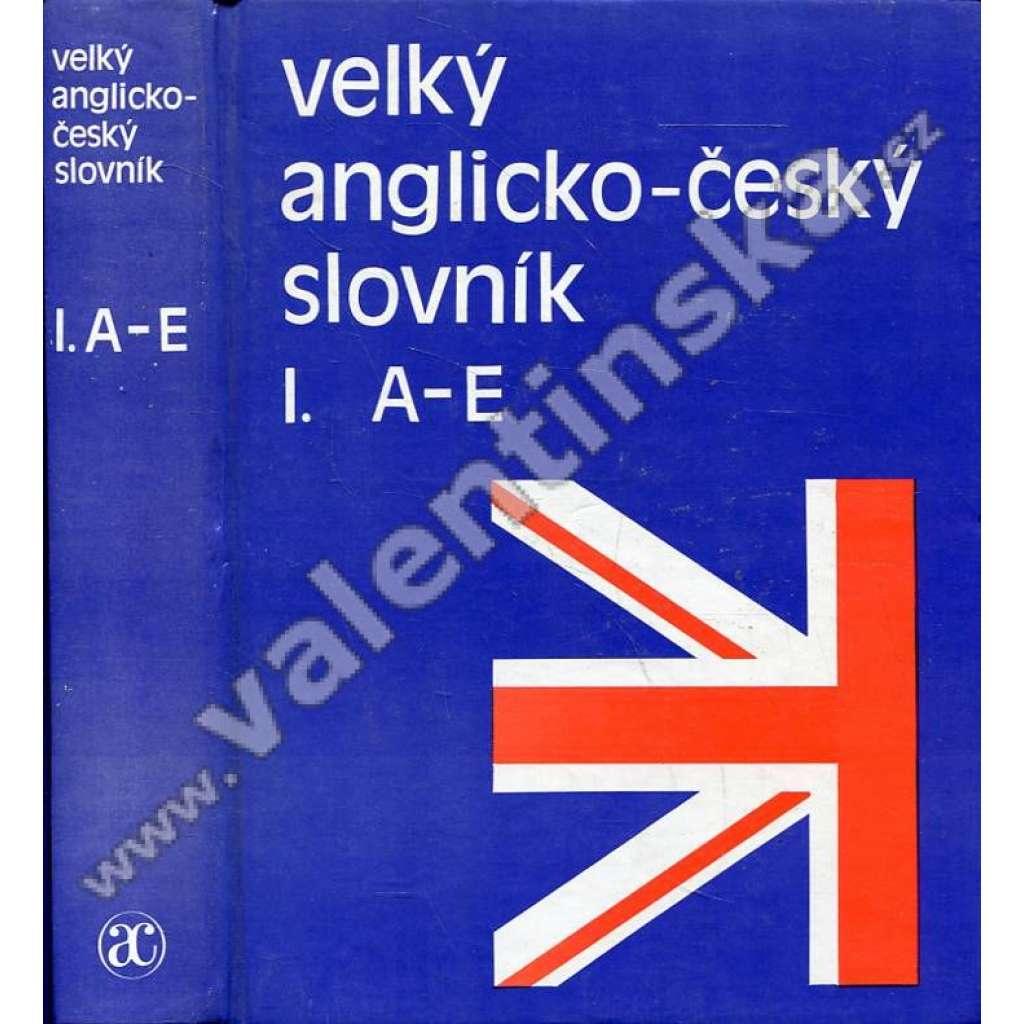 Velký anglicko-český slovník, 4 svazky HOL