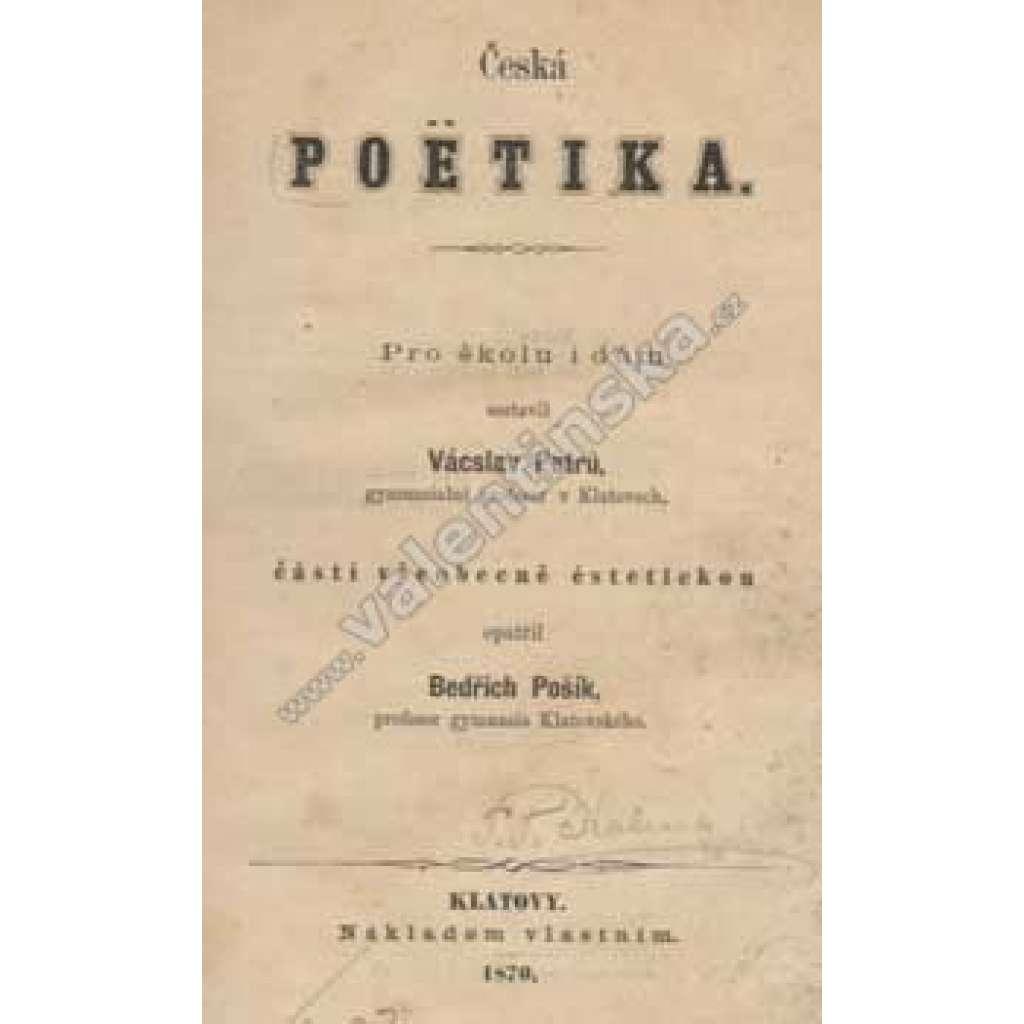 Česká poetika
