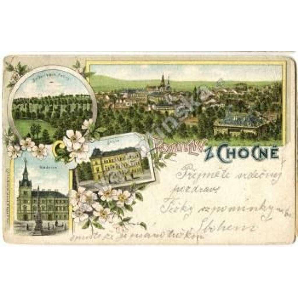 Choceň, Ústí nad Orlicí, litografie