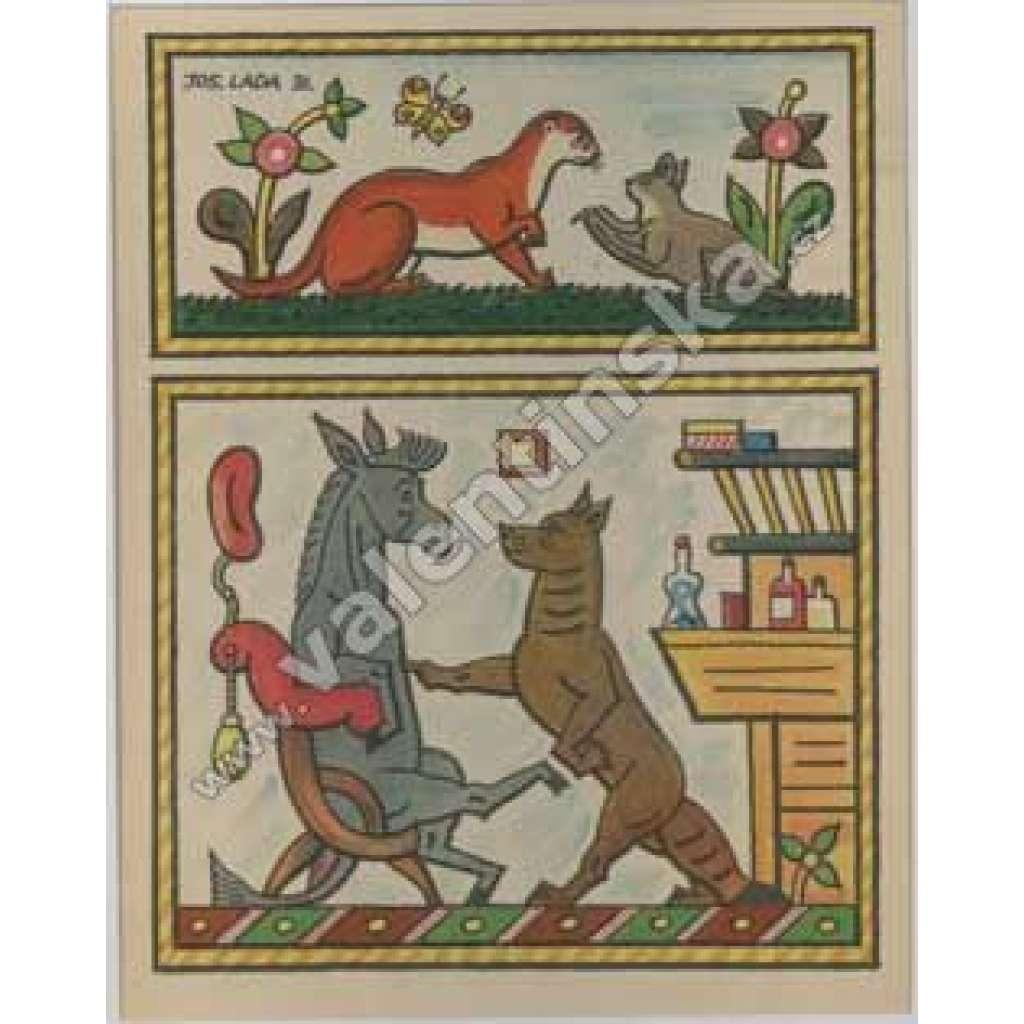 Kuna,kůn,vlk