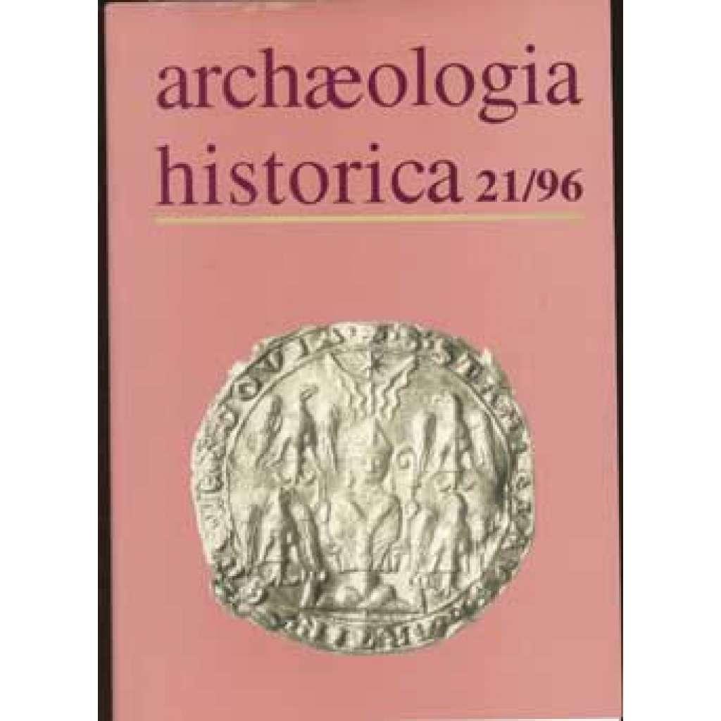 Archaeologia historica 21/96