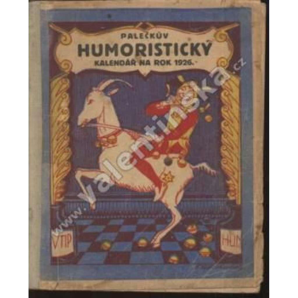 Palečkův humoristický kalendář na rok 1926